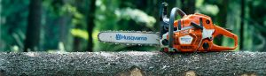 husqvarna chainsaw large banner