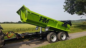 agricultural trailers hm