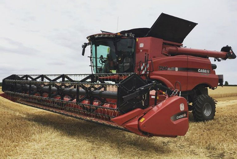 case ih axial flow red