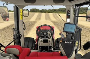tractor operating seat