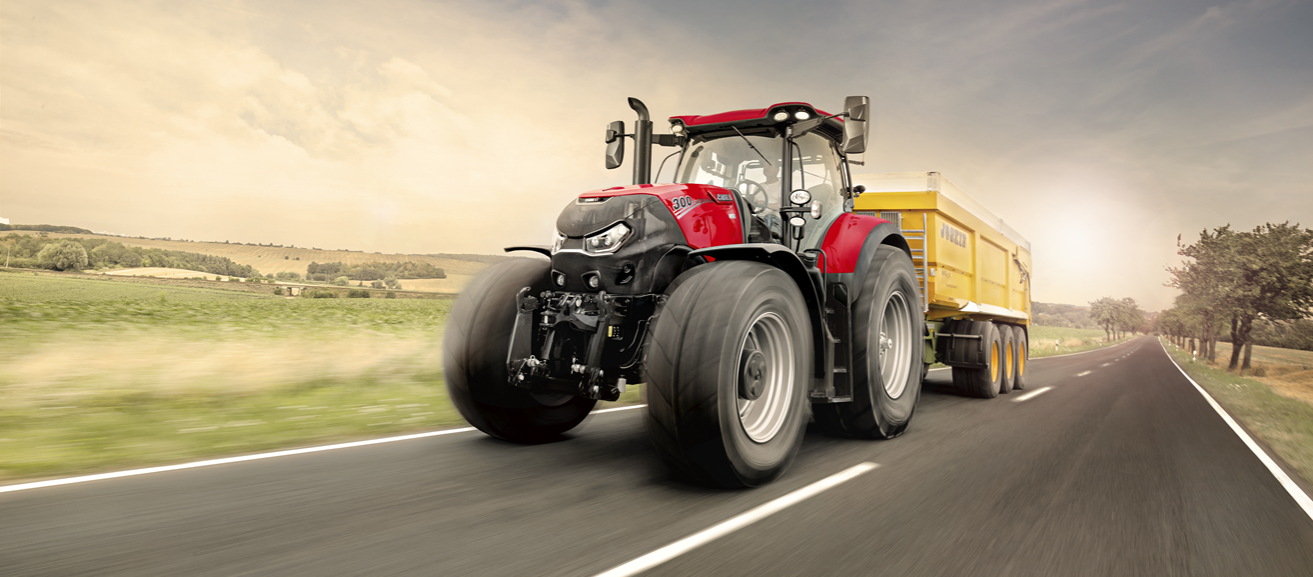 cropped Case IH Optum tractor image
