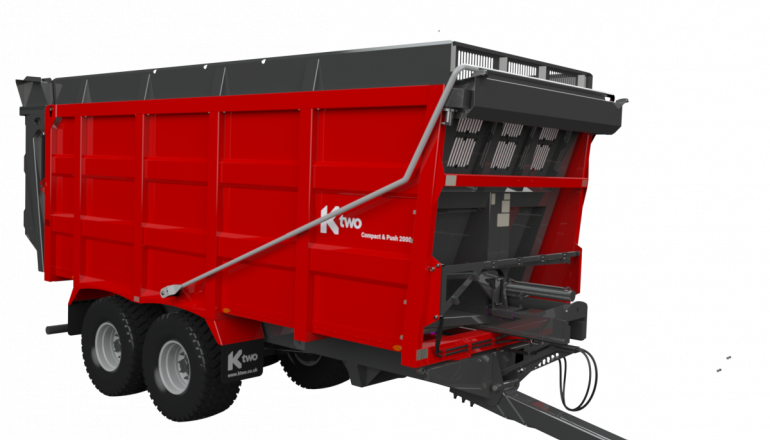 ktwo Compact & Push Trailer